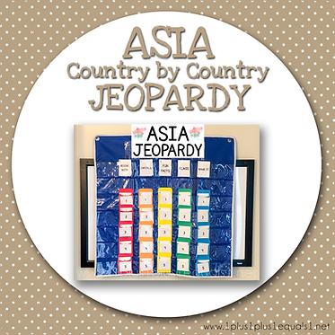 GROUP USE: ASIA Country by Country JEOPARDY