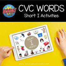BOOM CVC Words Short I Activities .png