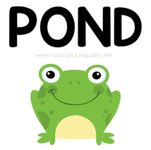 Pond Theme Printables and Ideas