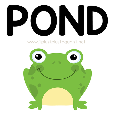 Pond Theme Printables and Ideas