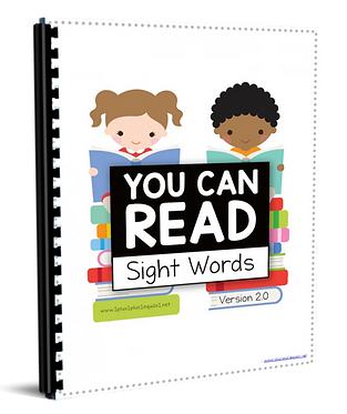 You Can Read Sight Words