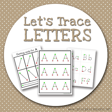Let's Trace Letters
