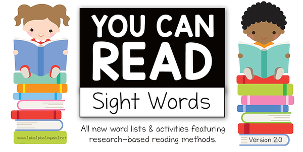 You Can Read Sight Words Version 2.0 Log