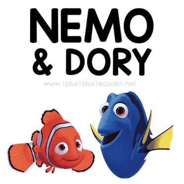 Nemo Theme Printables and Ideas for Kids