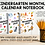Thumbnail: PreK & Kindergarten Calendar Notebook - LIFETIME MEMBERSHIP