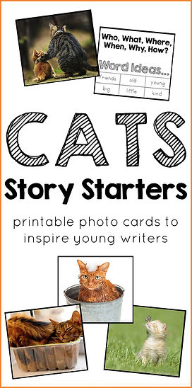 Cats Story Starters Printable Photo Cards.jpg
