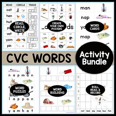 CVC Words Activity Bundle (1).png