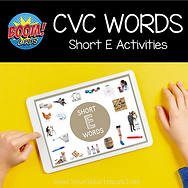 BOOM CVC Words Short E Activities .png