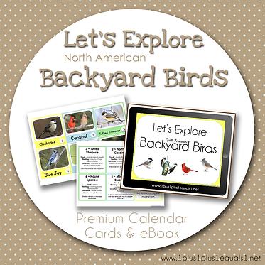 Let's Explore North American Backyard Birds