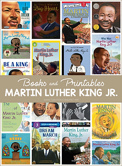 Martin Luther King Jr. Books and Printab