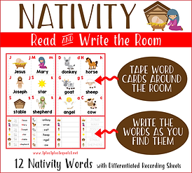 Nativity Read and Write the Room Horizon
