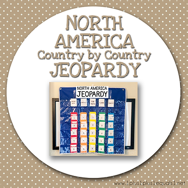 GROUP USE: NORTH AMERICA Country by Country JEOPARDY