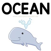 Ocean Theme Printables and Ideas