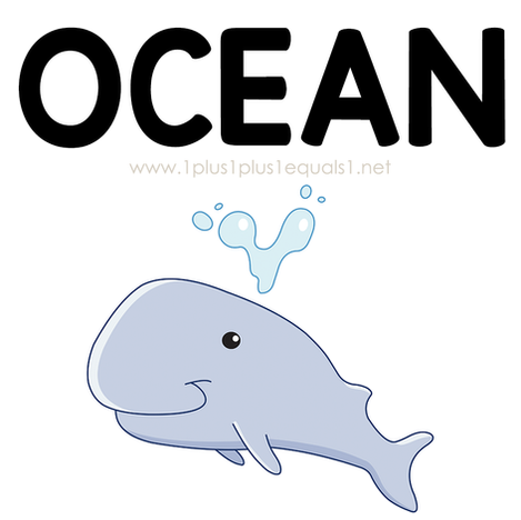 Ocean Theme Printables and Ideas