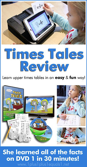 Times Tables DVD Review Make Multiplicat