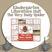 Kindergarten Literature Unit The Very Busy Spider.png