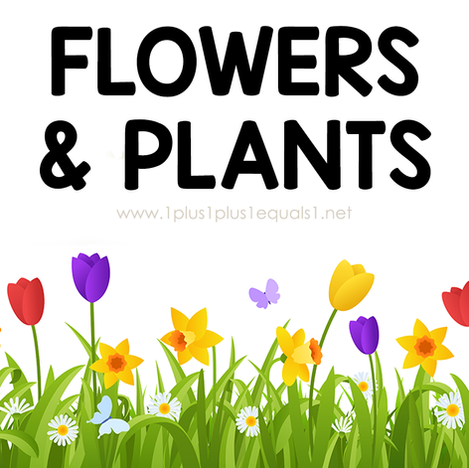 Flowers & Plants Theme Printables and Ideas