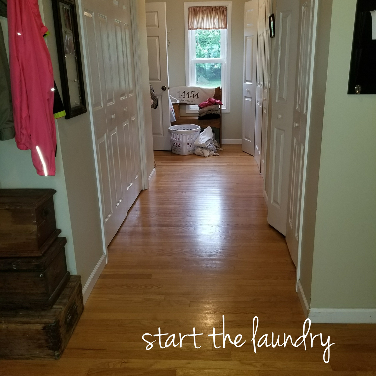 Start the Laundry