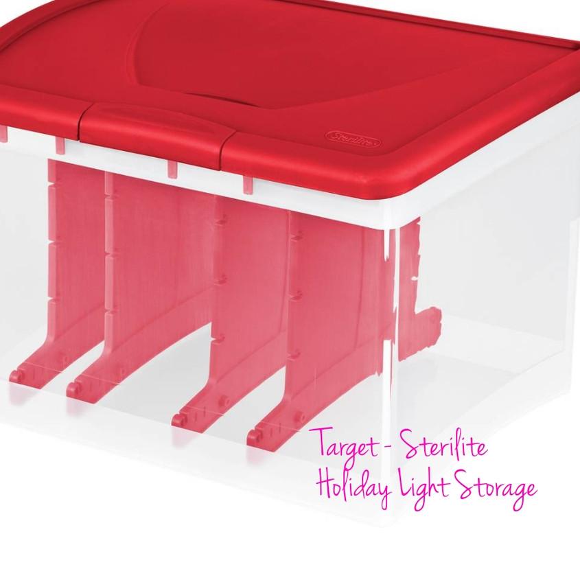 Holiday Light Storage