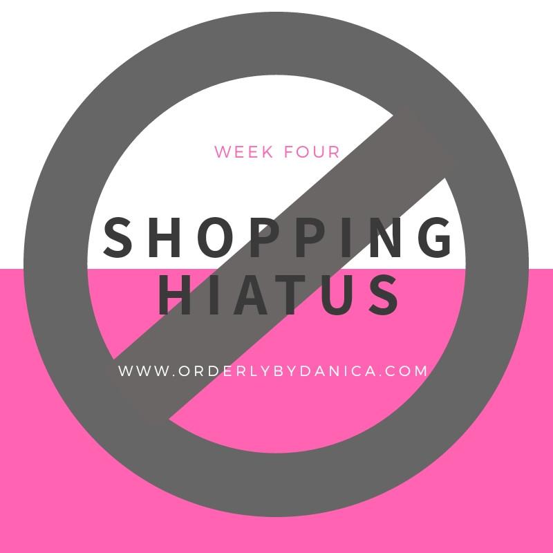 Shopping Hiatus