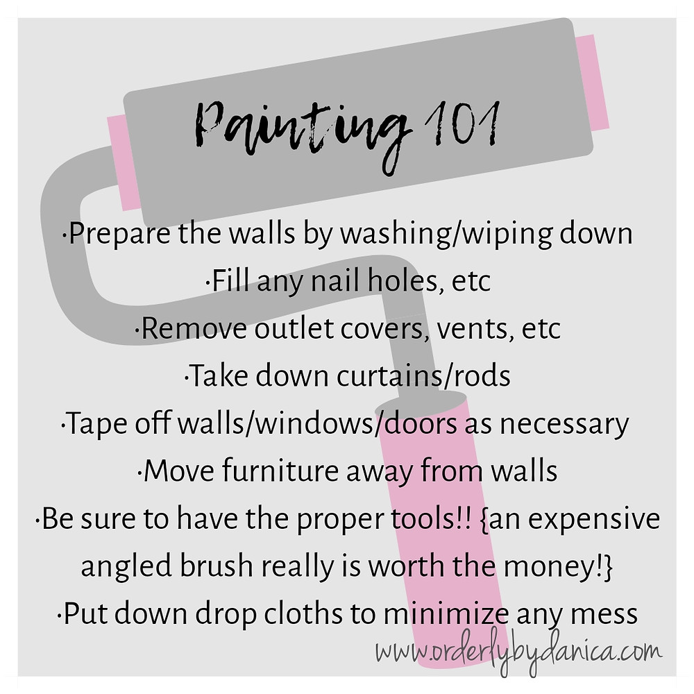 Painting 101 - Tips
