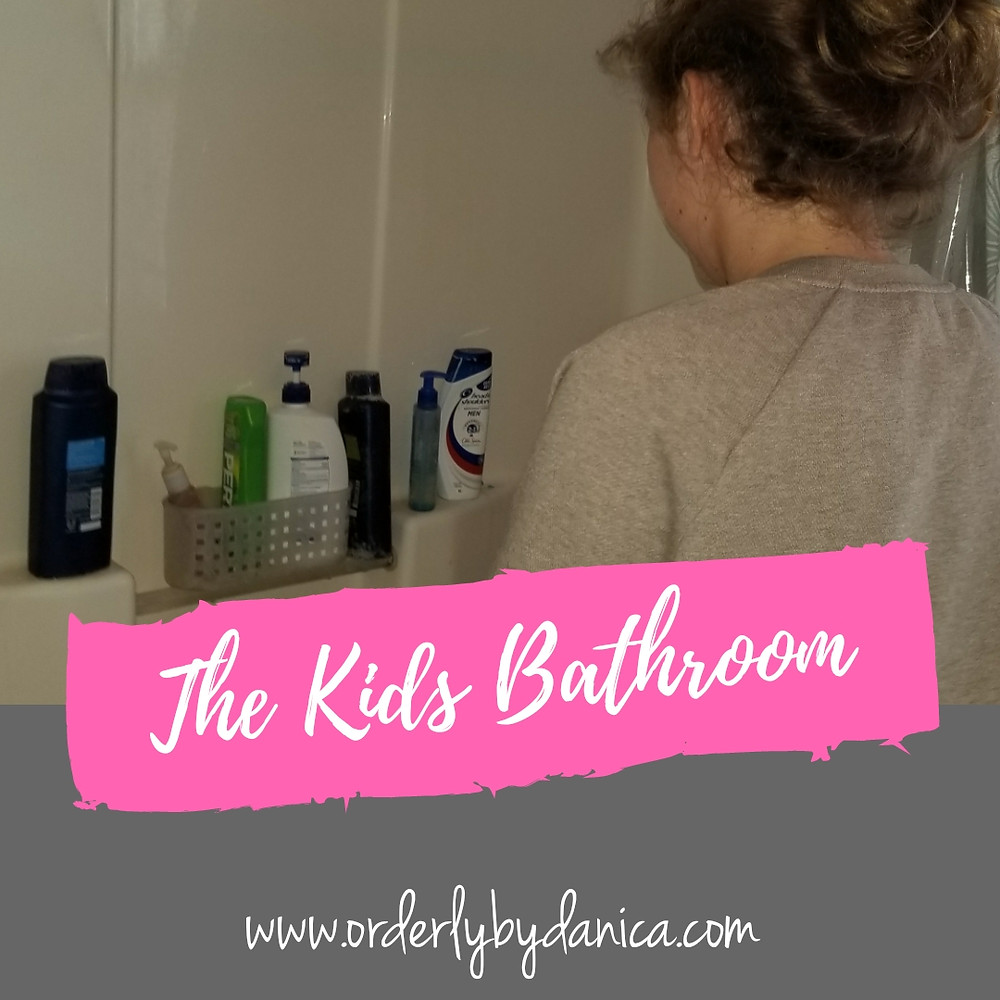The kids bathroom