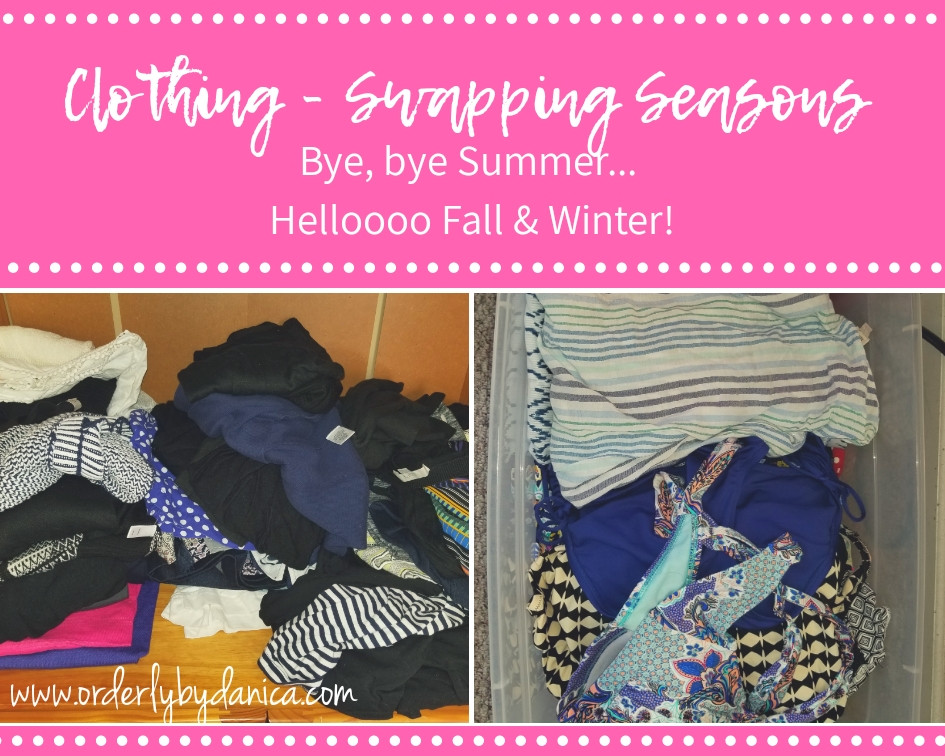 Clothing - Swapping Seasons