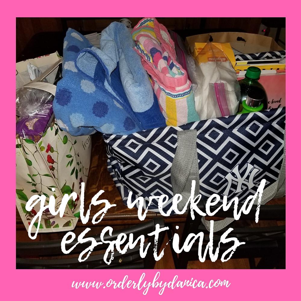 Girls Weekend Essentials