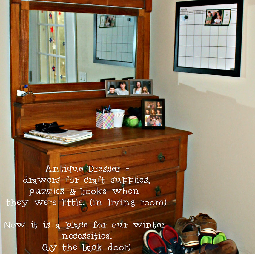 Antique Dresser for Extra Storage