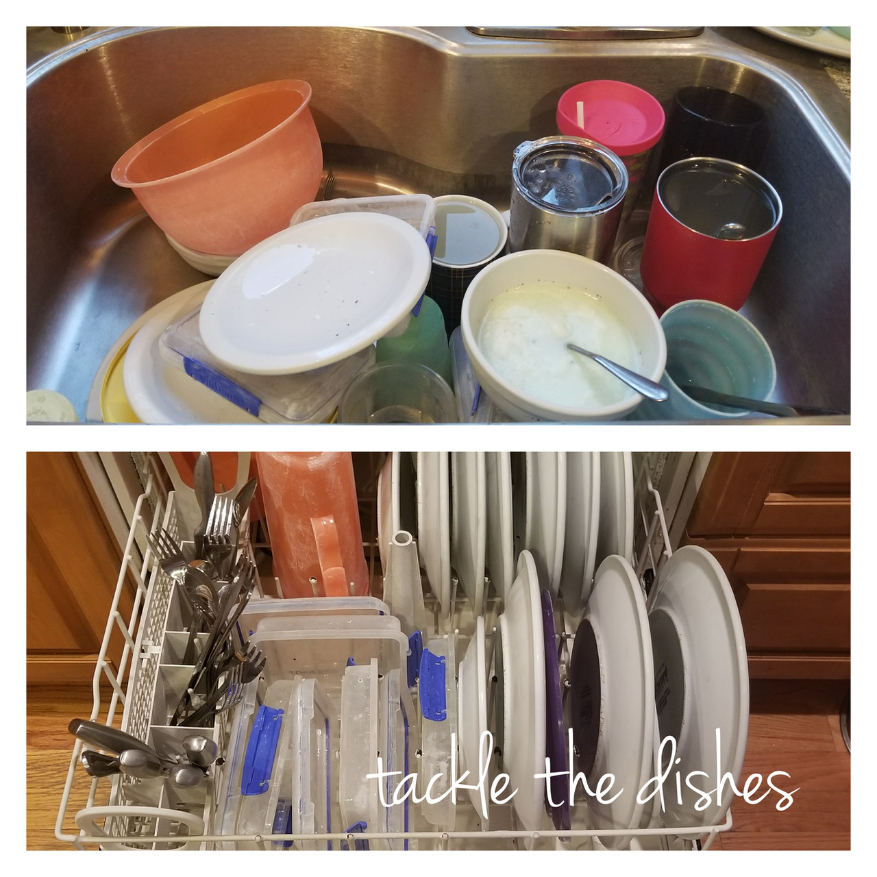 Tackle the dishes