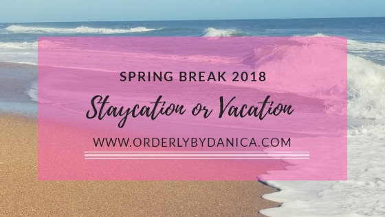 Staycation or Vacation