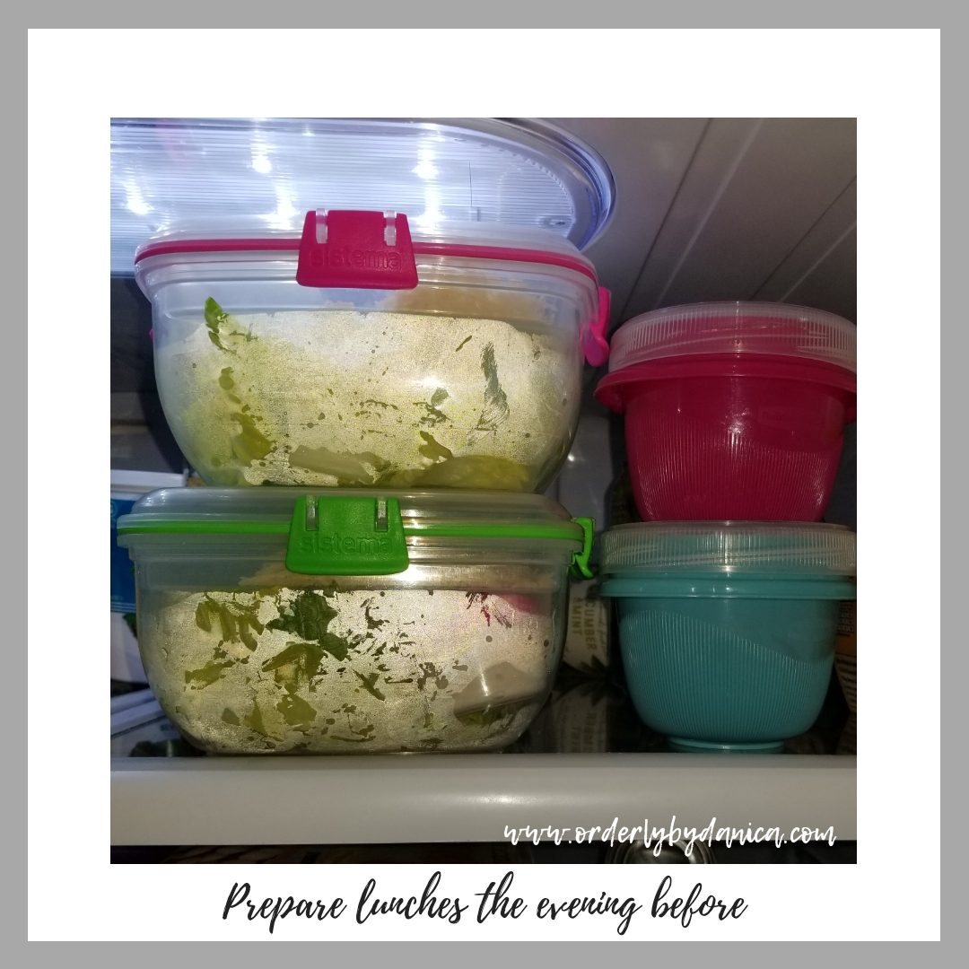 Meal Plan & Lunch Prep