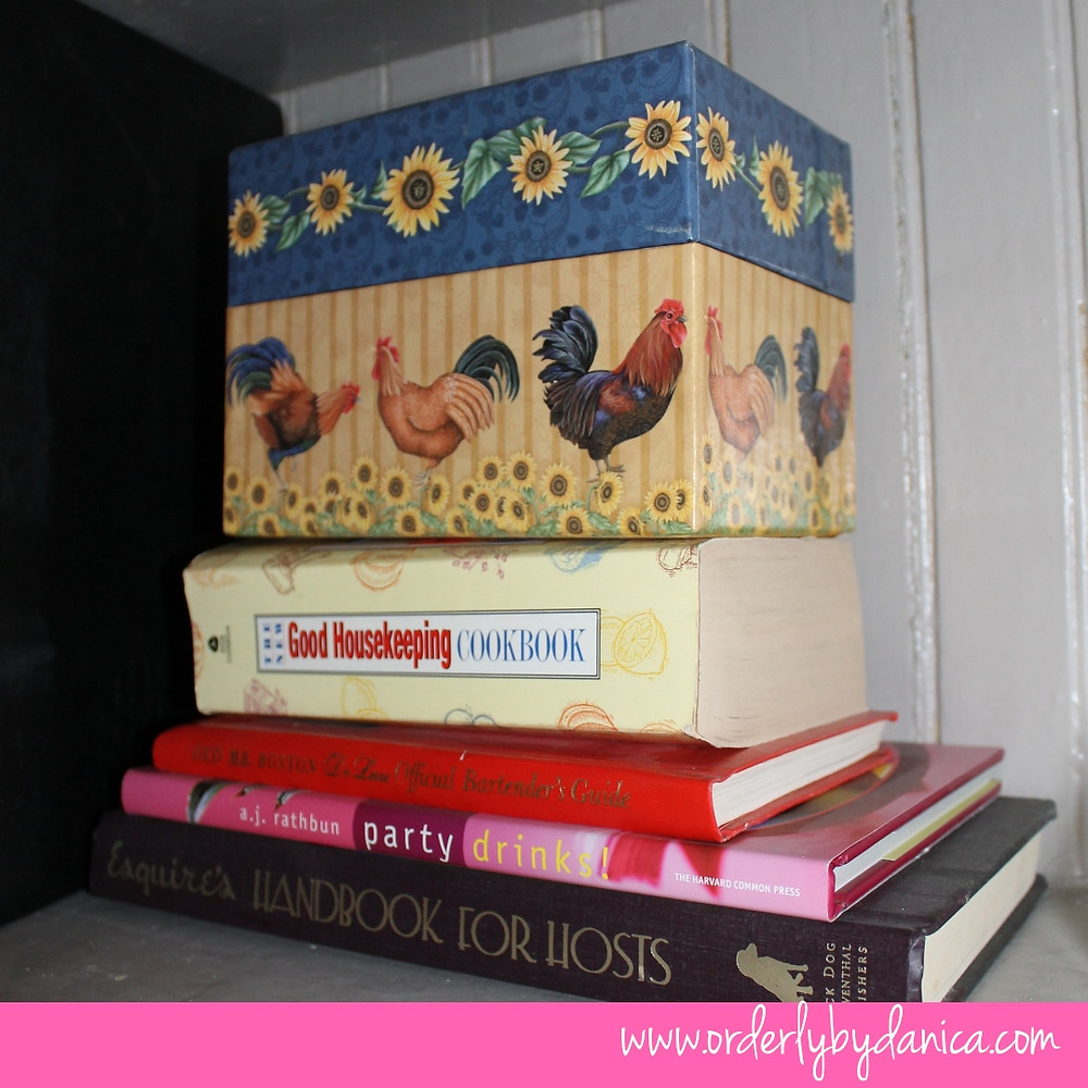 Recipe Box, Cookbooks