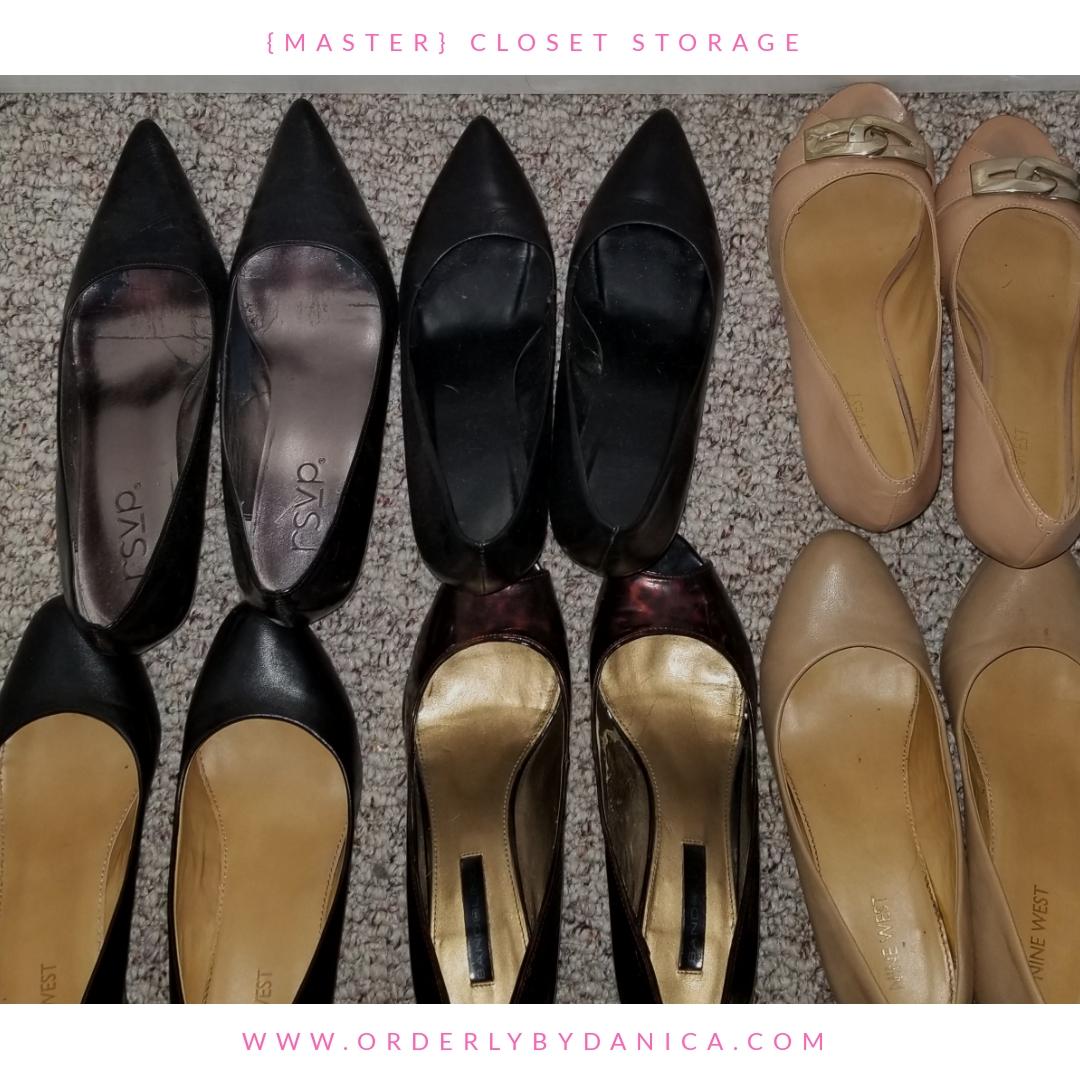 Dress Shoe Storage