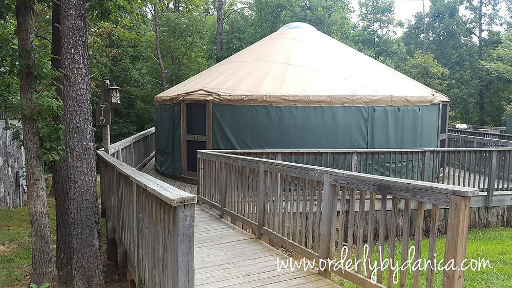Yurt, Gordonsville, VA, Bluegreen Vacations