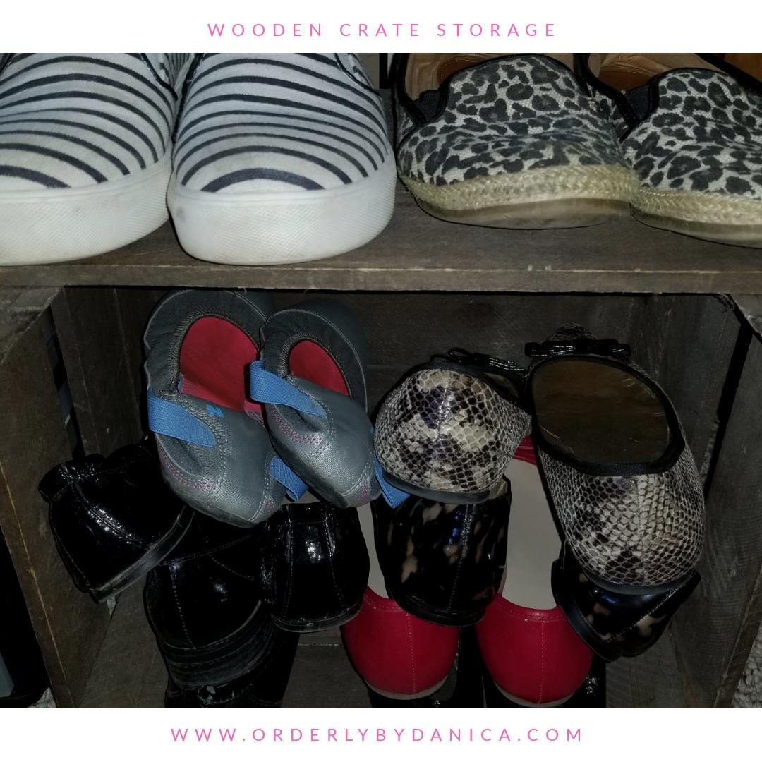 Casual Shoe Storage