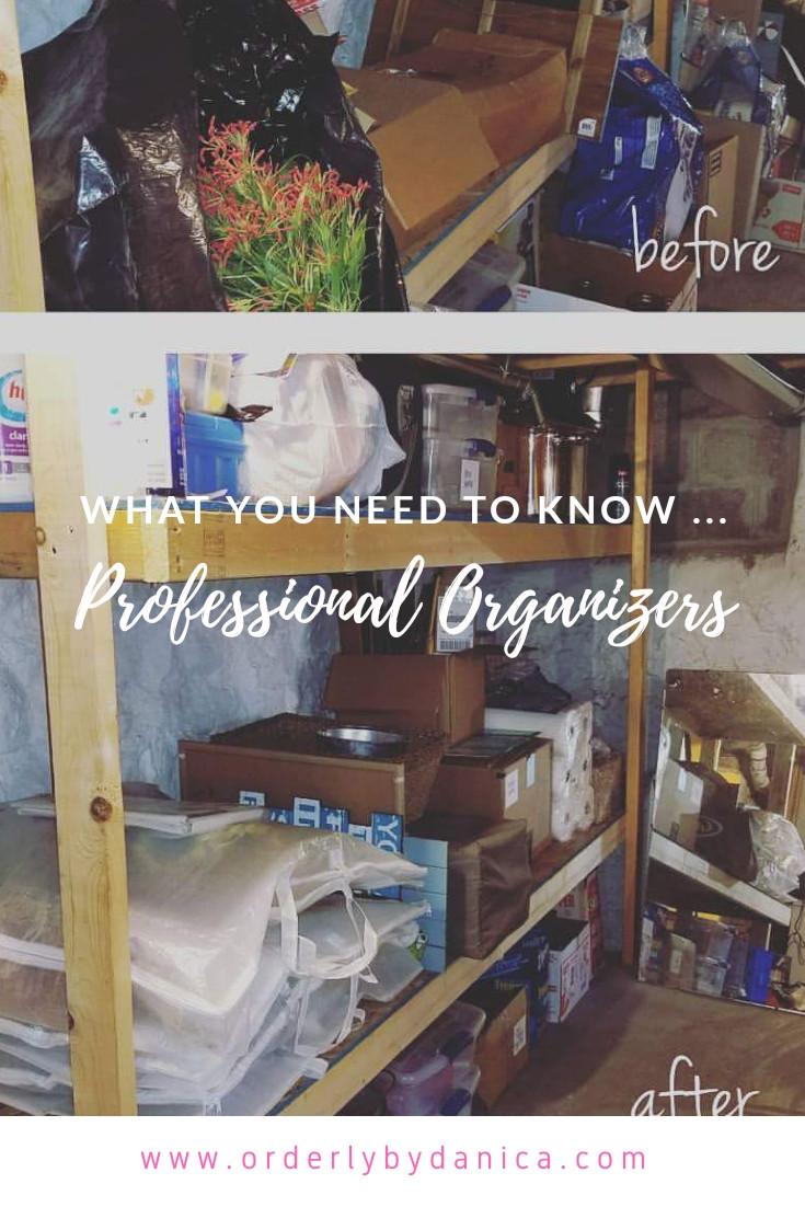 Professional Organiziers