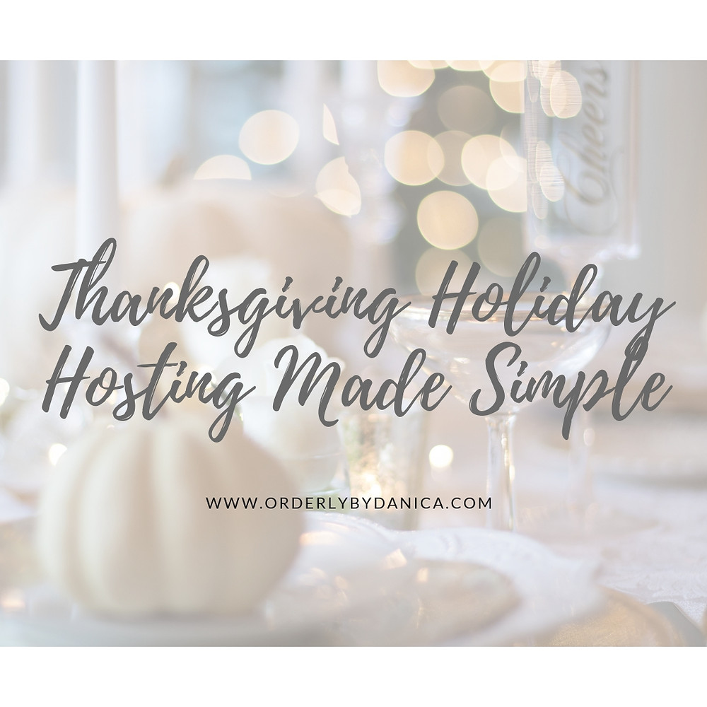 Thanksgiving Hosting