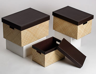 Set of 3 Boxes by Basket Trend Home Products Inc Philippines