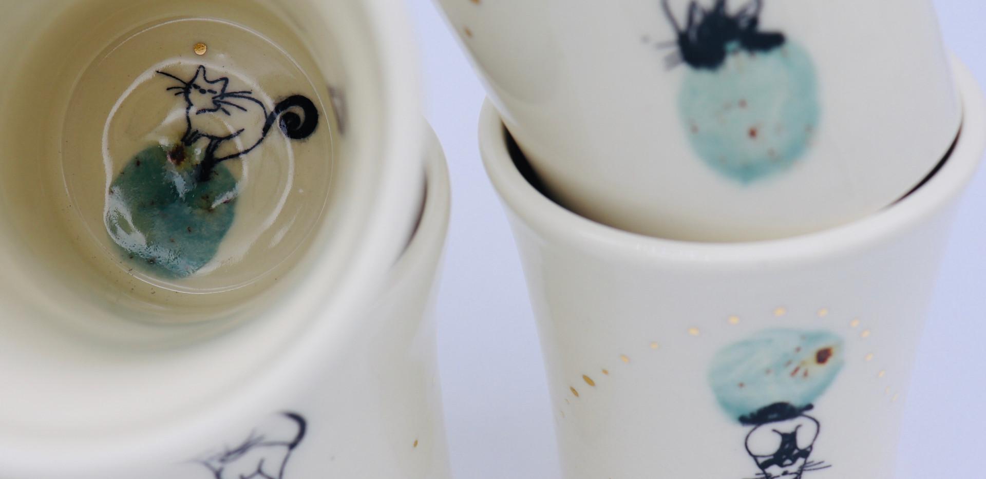 Luna Cat - Green - inside cups.jpg