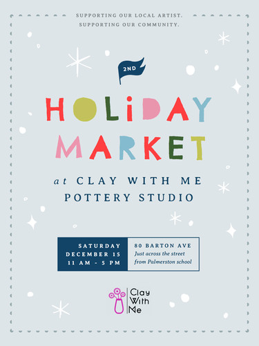 Holiday Market @ Clay With Me