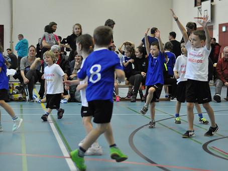 Kinderhandball-  Die Kleinsten ganz gross!