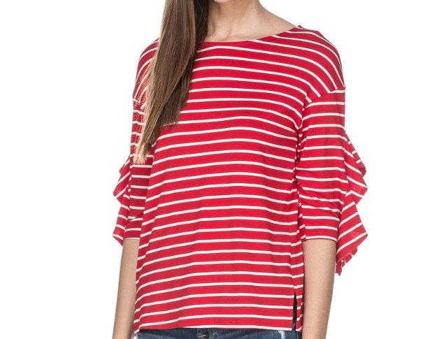 44E3686 • Red Stripes (Min 6 pcs)