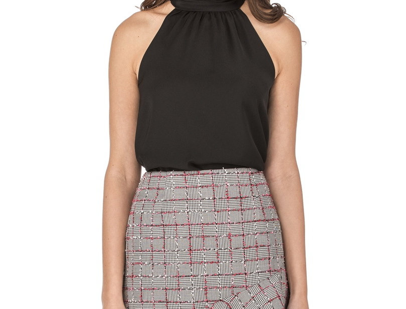"""46J3735 • Houndstooth (Avail. in 38"""" - 46J3599-38) 0-14"""