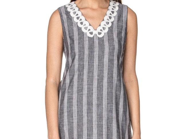 44F8562 •  Grey Stripe Shirting