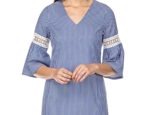 42M9432 • Blue Stripe Shirting