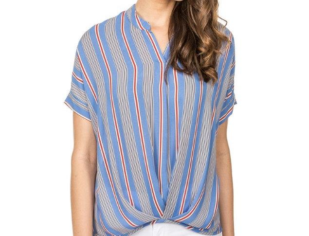 42A3578 • Blue Stripe  (Min 6 pcs)