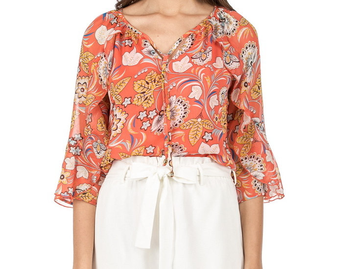 47B9528 • Coral Floral