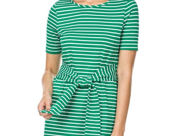 42B9442 • Blue Stripe, Green Stripe (Short Dress)