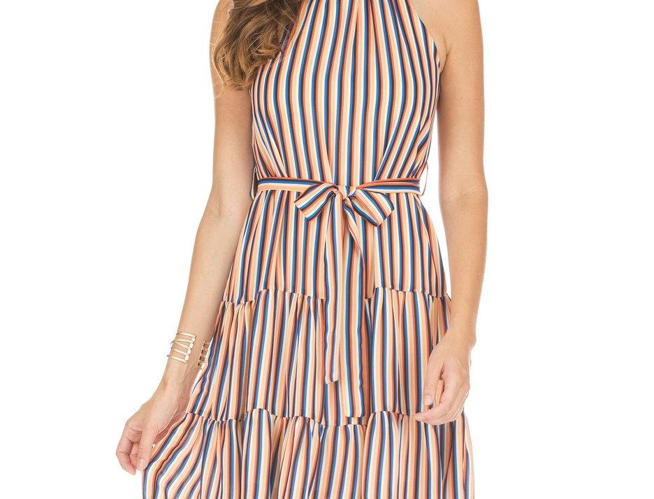 53F3844 • Tangerine Stripes